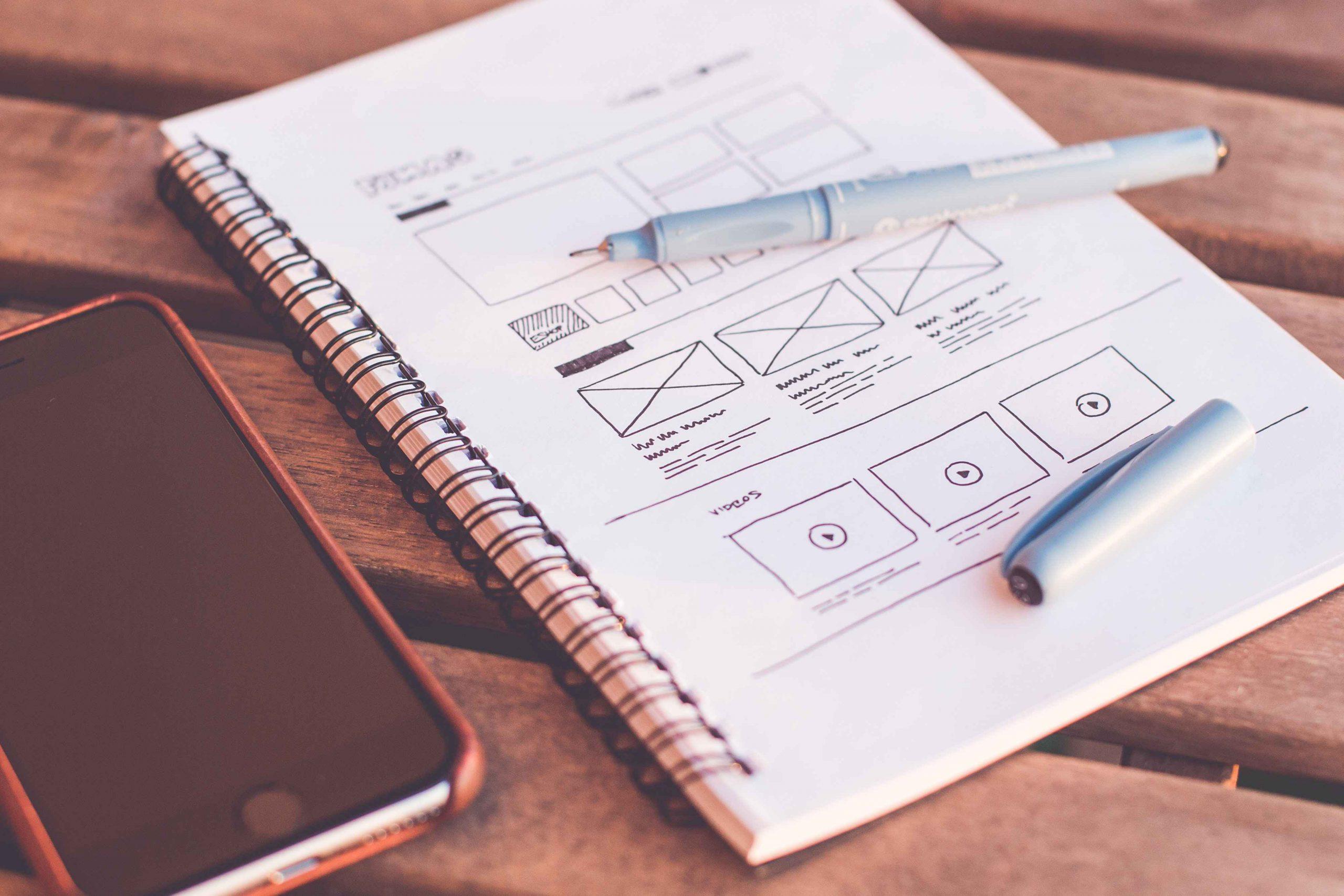 Web design flow