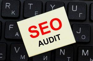 SEO Audit sign